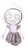 the Flatwoods monster by sixteen6stars