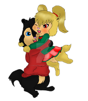 .::GIFT::. JoJo And Logan *Digital Colored* by TheThunderettes
