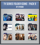 TV Series Folder Icons - Pack 9 by DYIDDO