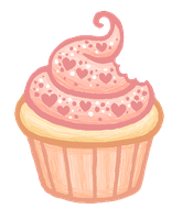 Valentine's Cupcake by unsteadily