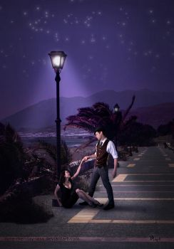 cavalier of a summer night by ilura-menday-less