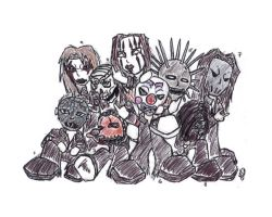 Slipknot: --chibified--. by XxnavajaxX