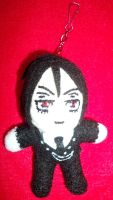 Sebastian Michaelis Plush Keychain by TashaAkaTachi
