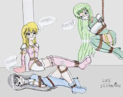 Fury, Lachesis and Ayra by DLShowtime