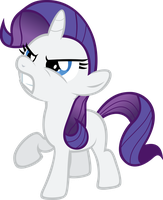 Vector Filly Rarity by Kyss.S by KyssS90