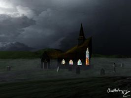 Spooky Church 001 by olivera-h