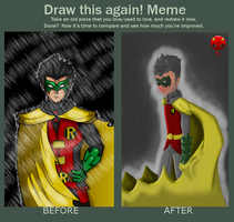 before and after meme by RisingDiablo