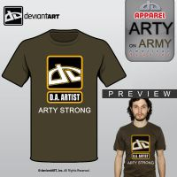 Arty Strong by yamyyabes