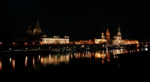 Dresden at night by Nadine2390
