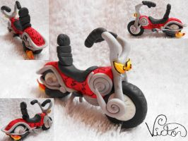 Crazy Motorcycle by VictorCustomizer