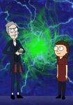 Doctor who/Rick and Morty by Mr-Saxon