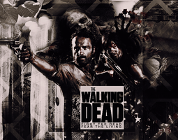 the walking dead - wallpaper by floresbrillantes