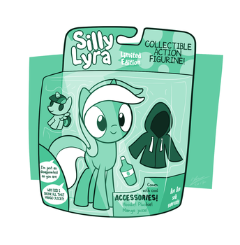 Silly Lyra - Collectible Action Figurine! by Dori-to