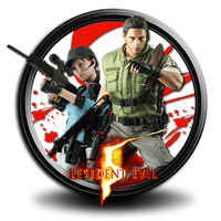 Resident Evil 5 icon by S7 by SidySeven