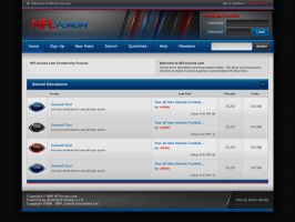 NFLforum.com Forum Template v1 by Axertion
