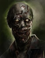 Zombie_portrait colored by aerlixir