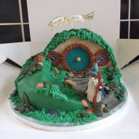 The Hobbit Cake by SarahDesignsUK