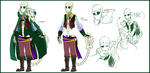 ref NewTale: Prince!gaster by Bunnymuse