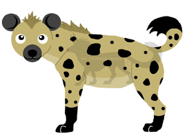 Squee Hyena by CrazyCrocuta