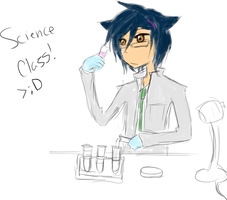 AU Science Class - RP Starter by Ask-ErikandOthers