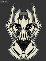 Halo.O.T. Version General Grievous Star Wars by haloowl