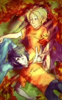 Solangelo :: Stay with Me by eunakii
