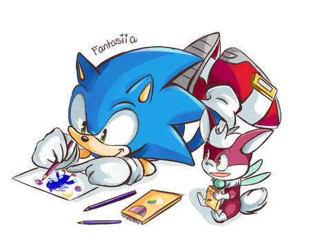 OMG SONIC SKILLS ARE AWESOME by Ipun