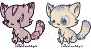 {Open Auction!} Kawaii Kittens No.5 by SparklyCrystalAdopts