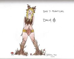 Day 7: Plant Girl by honest-liar-13