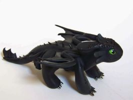 Toothless by DaniClayCreations