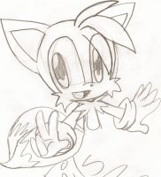 Tails Prower Sketch by tailsfan1996