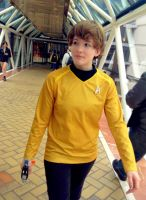Ensign Chekov, please report to the Bridge by StickandStoneCosplay