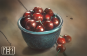 Cherries by RavenousFire