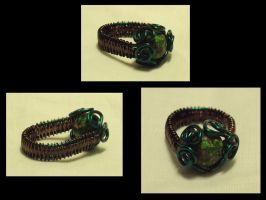 Earth ring by ACrowsCollection