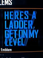 Get On My Level Emblem by KingHusky