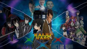 Kaiju Wars x Date a Live x Doctor Who Poster by Gojimon452