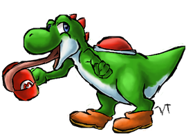 Yoshi~ by Electrical--Volttail