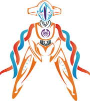 Color Deoxys by NewtonianNocturn