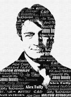 Nathan Fillion in Typography by tonya95