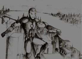 Iron Man by paulinapin