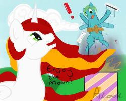 Lord Celestia request by DashWithRainbows