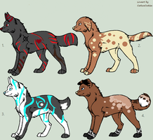 Adoptables 2 *closed* by Ziega