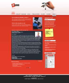 IT Soho Web-Site by timelikeit by webgraphix