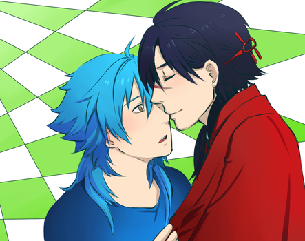 DRAMAtical Murder by dbrloveless