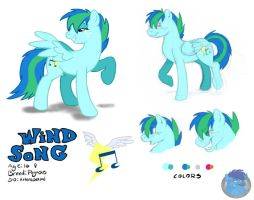Wind Song Reference by Silverfang98