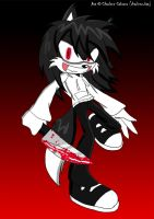 Jeff the Killer (Sonic Style) by xXCharleneBrendsxX