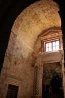 Monastery of St Mary, Mljet, interior 1 by wildplaces
