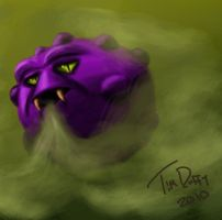 Koffing Speed Paint by Duff5107