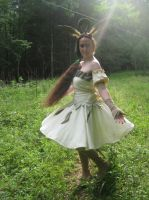 Leafeon Cosplay by LeafyWildFlower