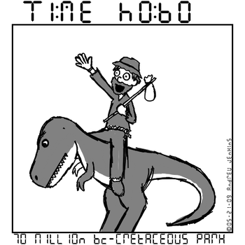 Time Hobo - 70 Million BC by Ecleian